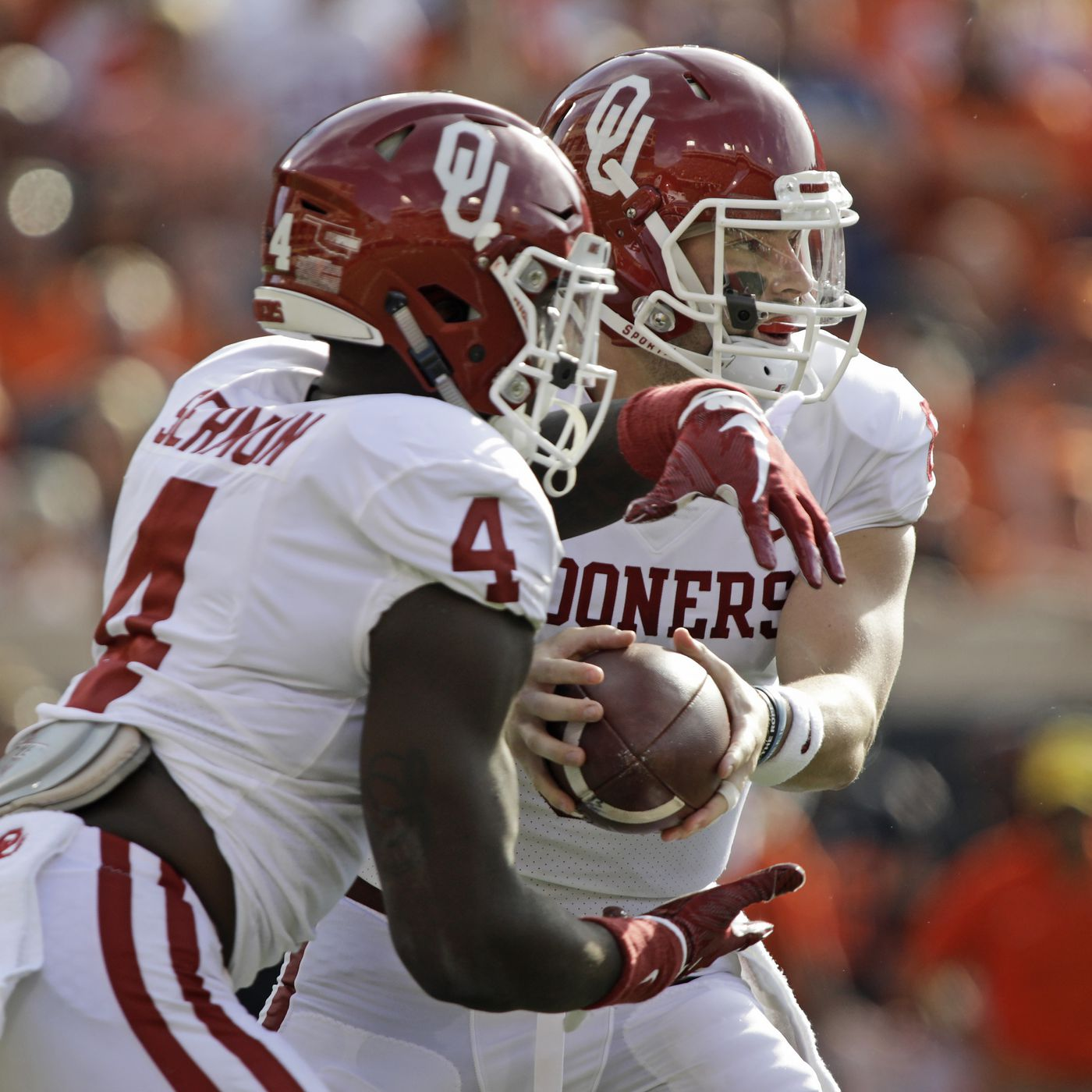 huge discount 31228 ce6f5 Oklahoma Football: OU stays at No. 4 in College Football ...