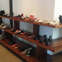 Shoes from Chloe, Rag & Bone, Proenza Schouler and many others.
