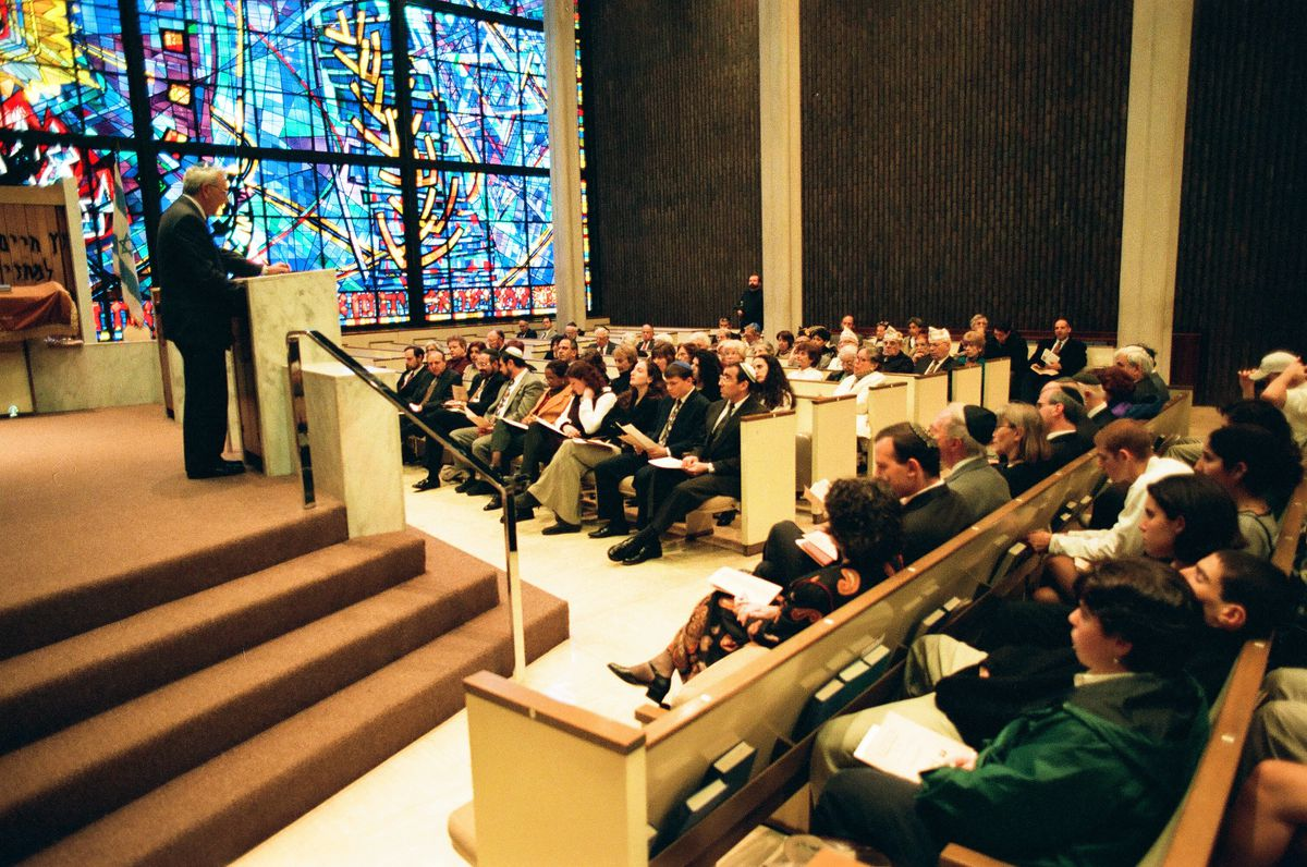 Chicago Loop Synagogue in 1996.