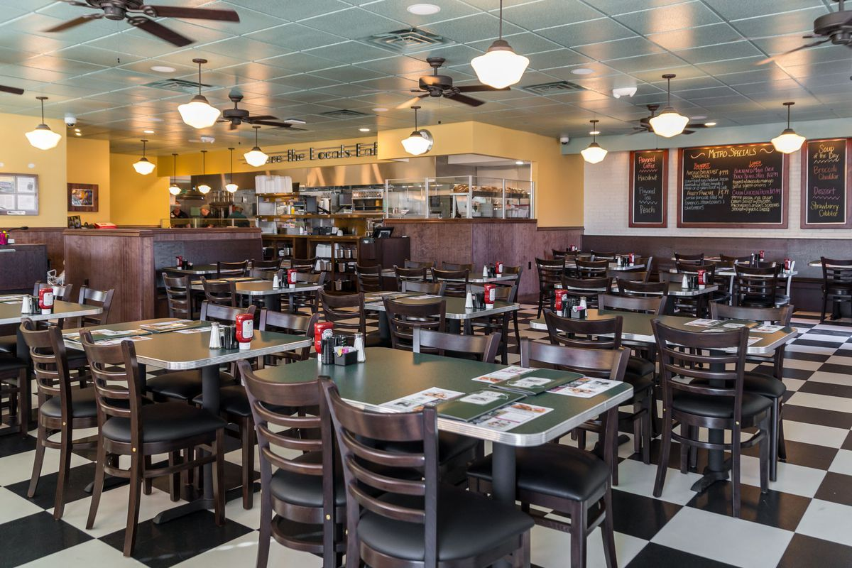Dig Into Guy Fieri Favorites at Metro Diner - Eater Vegas Diners Drive Ins And Dives Pittsburgh Locations on