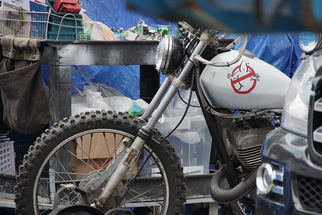 Ghostbusters motorcycle (from NeoGAF)