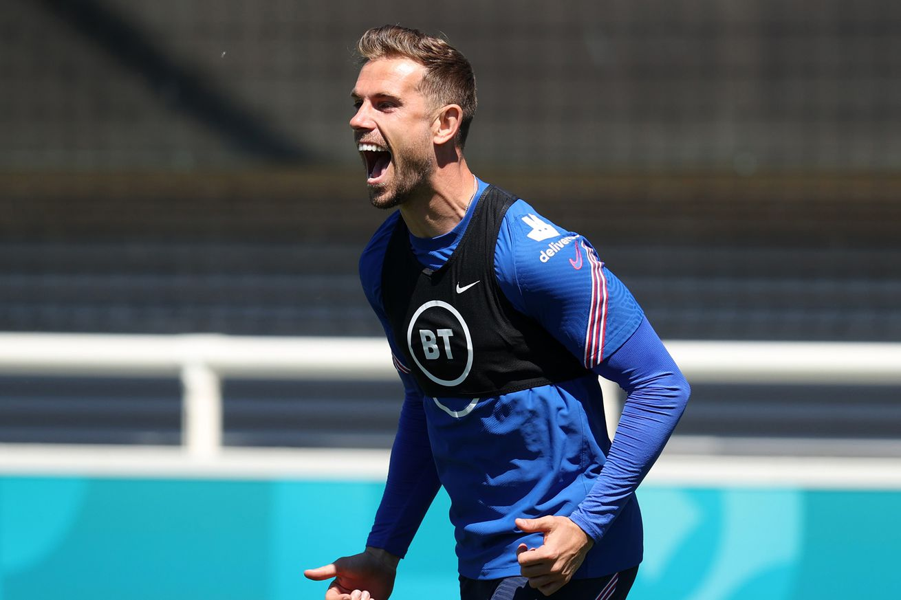 Jordan Henderson Still Not Fit to Play for England