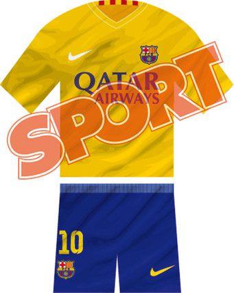 2015-16 FCB Away Kit