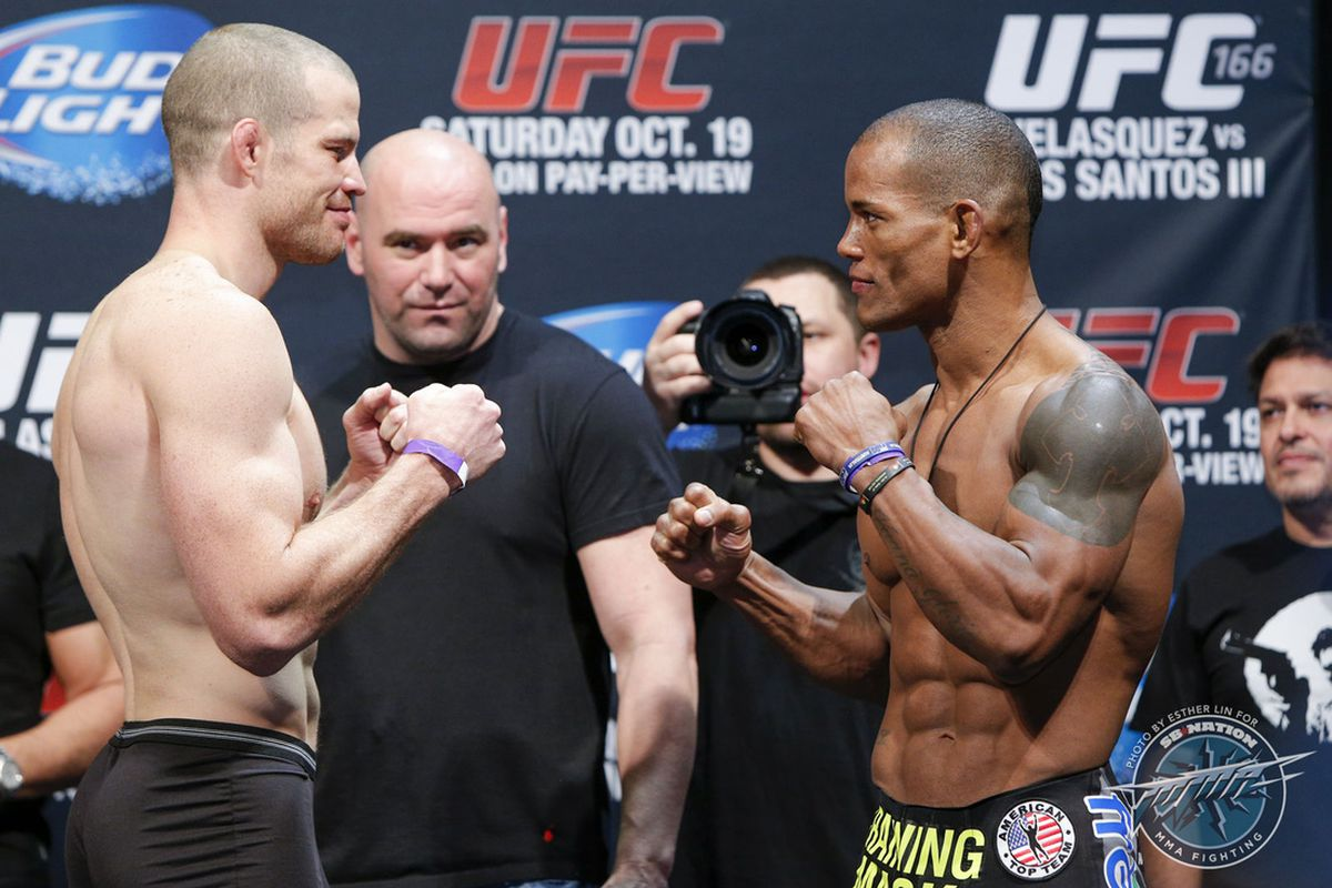 Hector Lombard Vs Rousimar Palhares