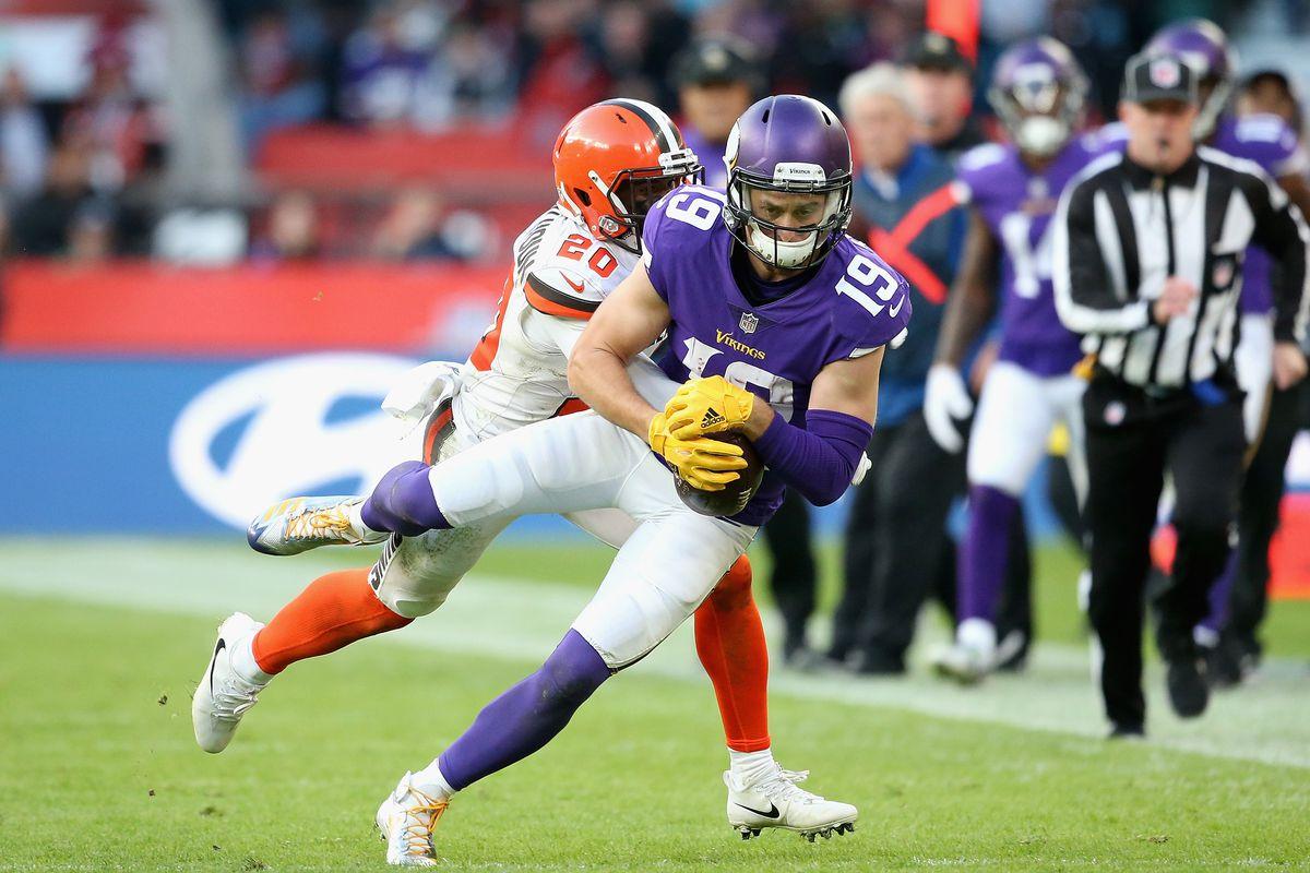 Minnesota Vikings vsCleveland Brown