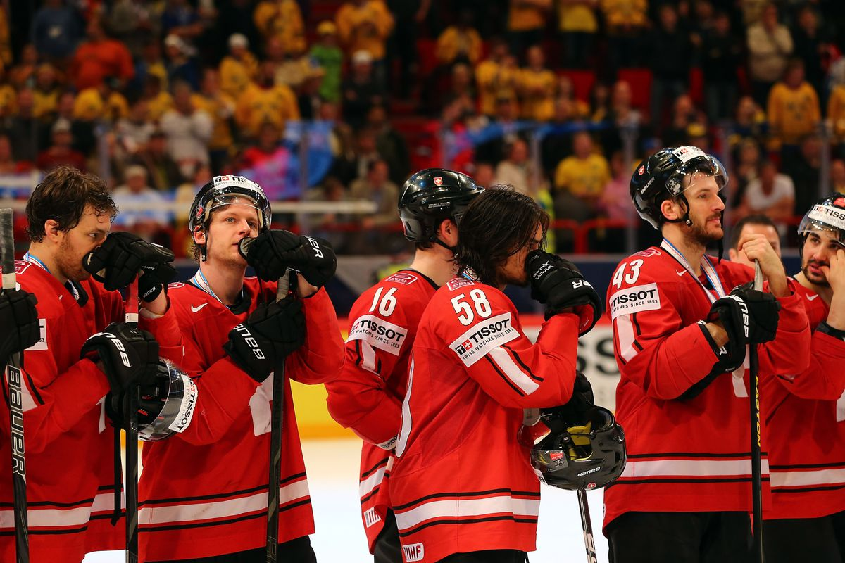 Sure, the Swiss lost in the World Championship final, but back home the fans were going coo-coo.