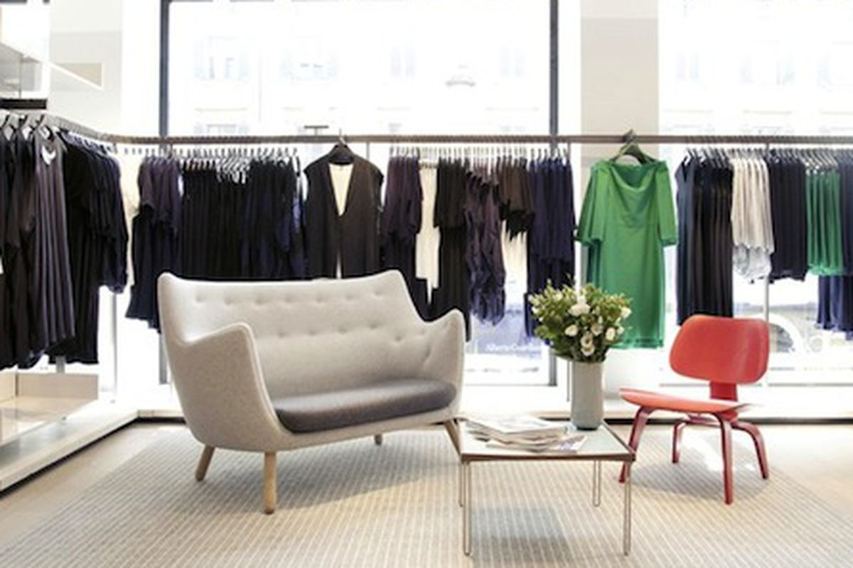 """The COS store in Milan. Photo via <a href=""""http://wwd2.wwd.com/retail-news/specialty-stores/hms-cos-set-to-cover-the-coasts-7581800?src=rss/retail/20140312"""">WWD</a>"""