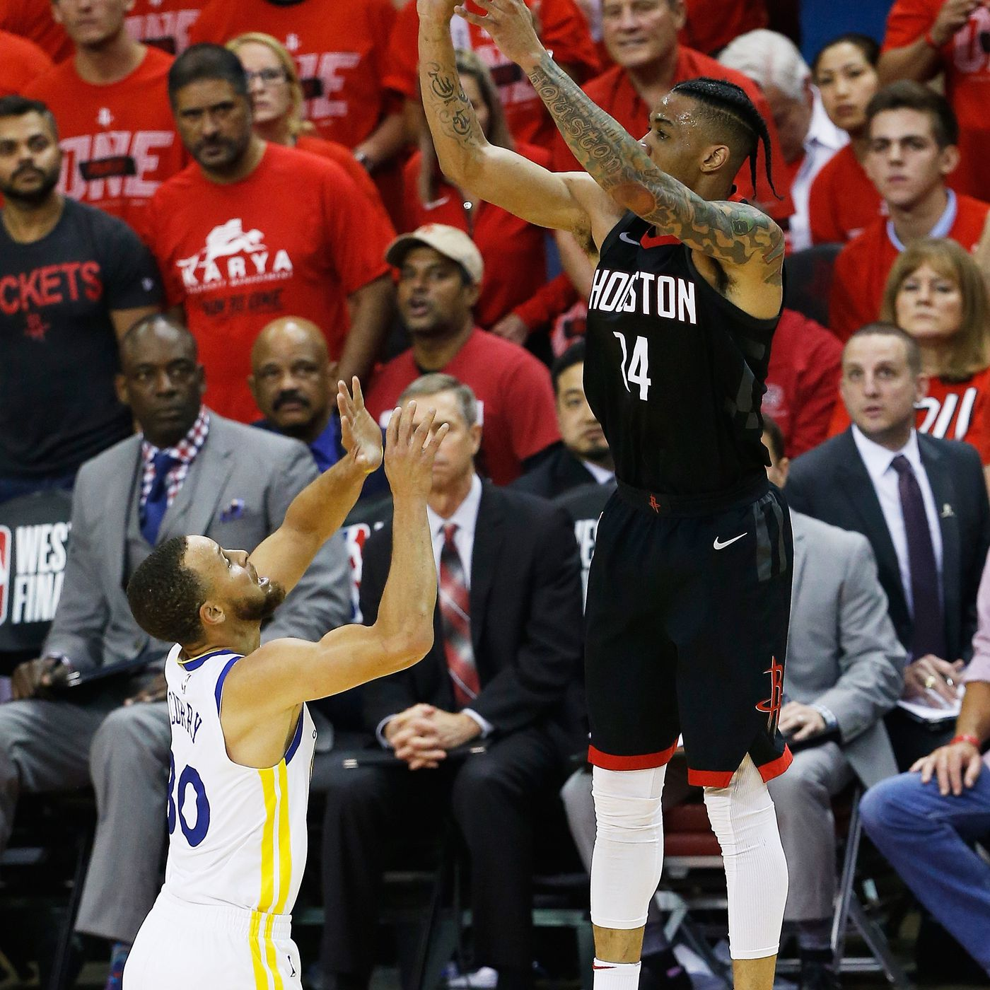 9bbcac406d8a Houston Rockets  only hope against Golden State Warriors was to rely on 3s  - SBNation.com