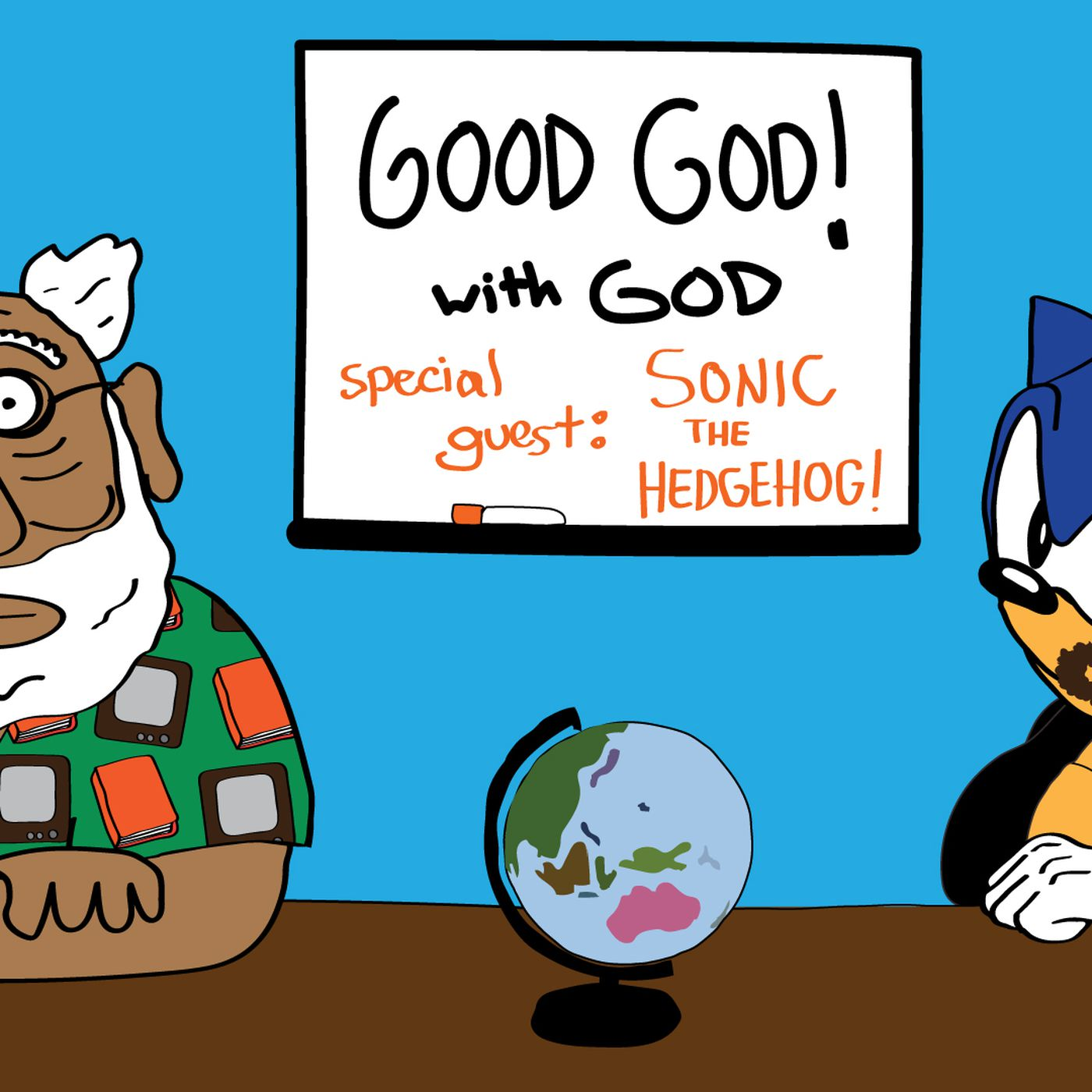 Good God With God And Special Guest Sonic The Hedgehog Funny Or Die