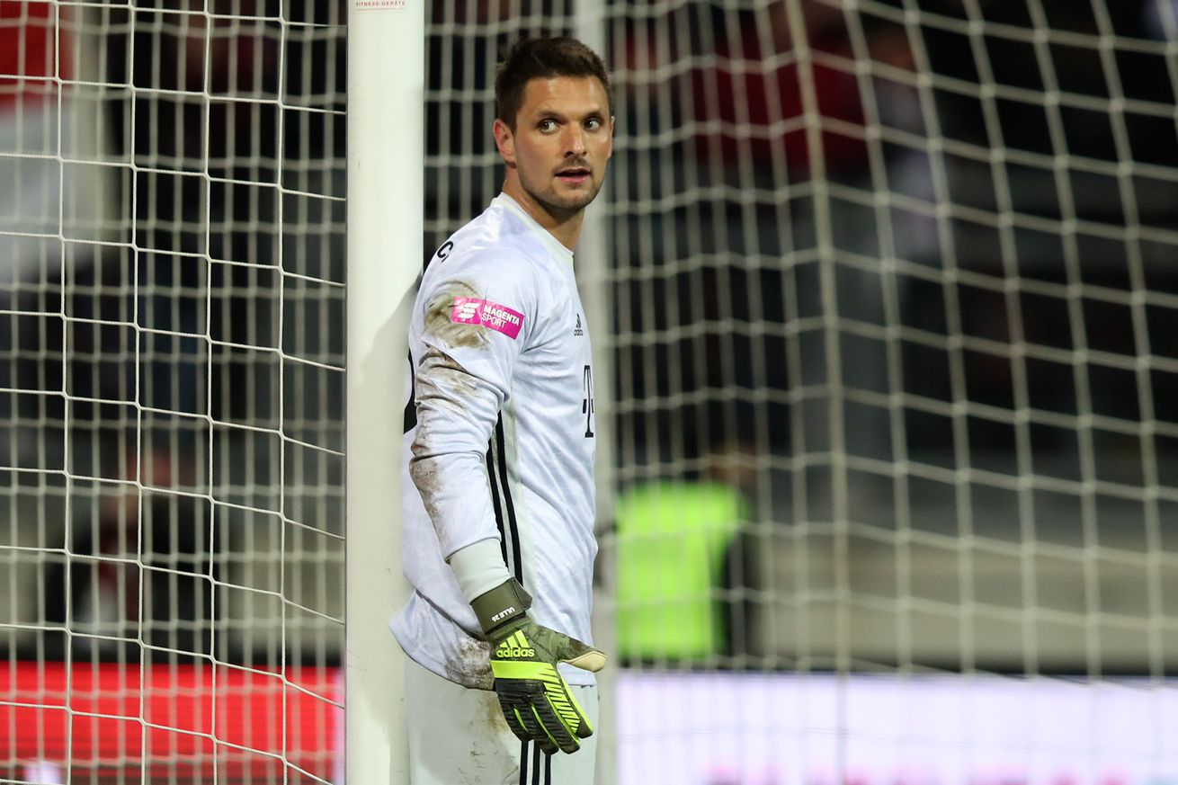 Sven Ulreich is open to leaving Bayern Munich for the right opportunity