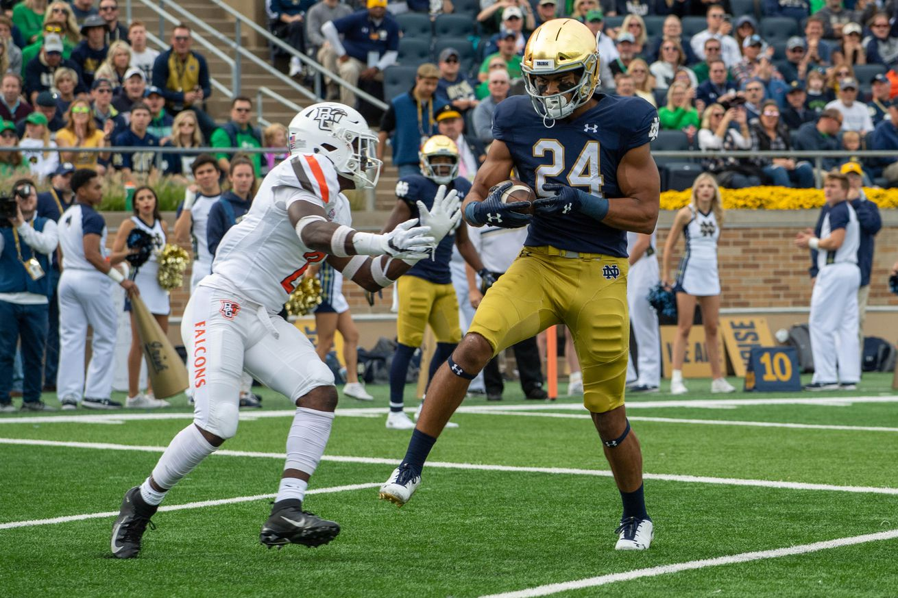 NCAA Football: Bowling Green at Notre Dame