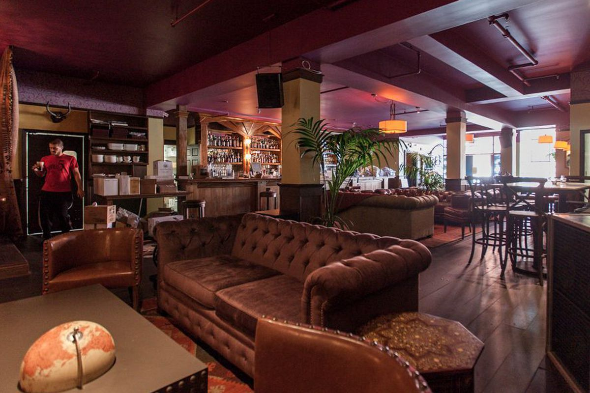 """<a href=""""http://sf.eater.com/archives/2013/09/20/bergerac_a_clubby_soma_cocktail_hideaway.php"""">Bergerac, San Francisco</a>."""