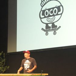 Roy Choi announcing his new fast food concept Loco'l