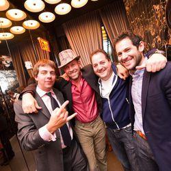 Lockhart Steele, John McDonald, Josh Capon, Ben Leventhal.