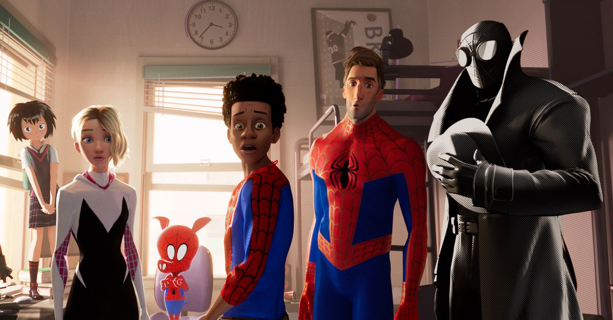 Spider Man Into The Spider Verse S After Credits Scene