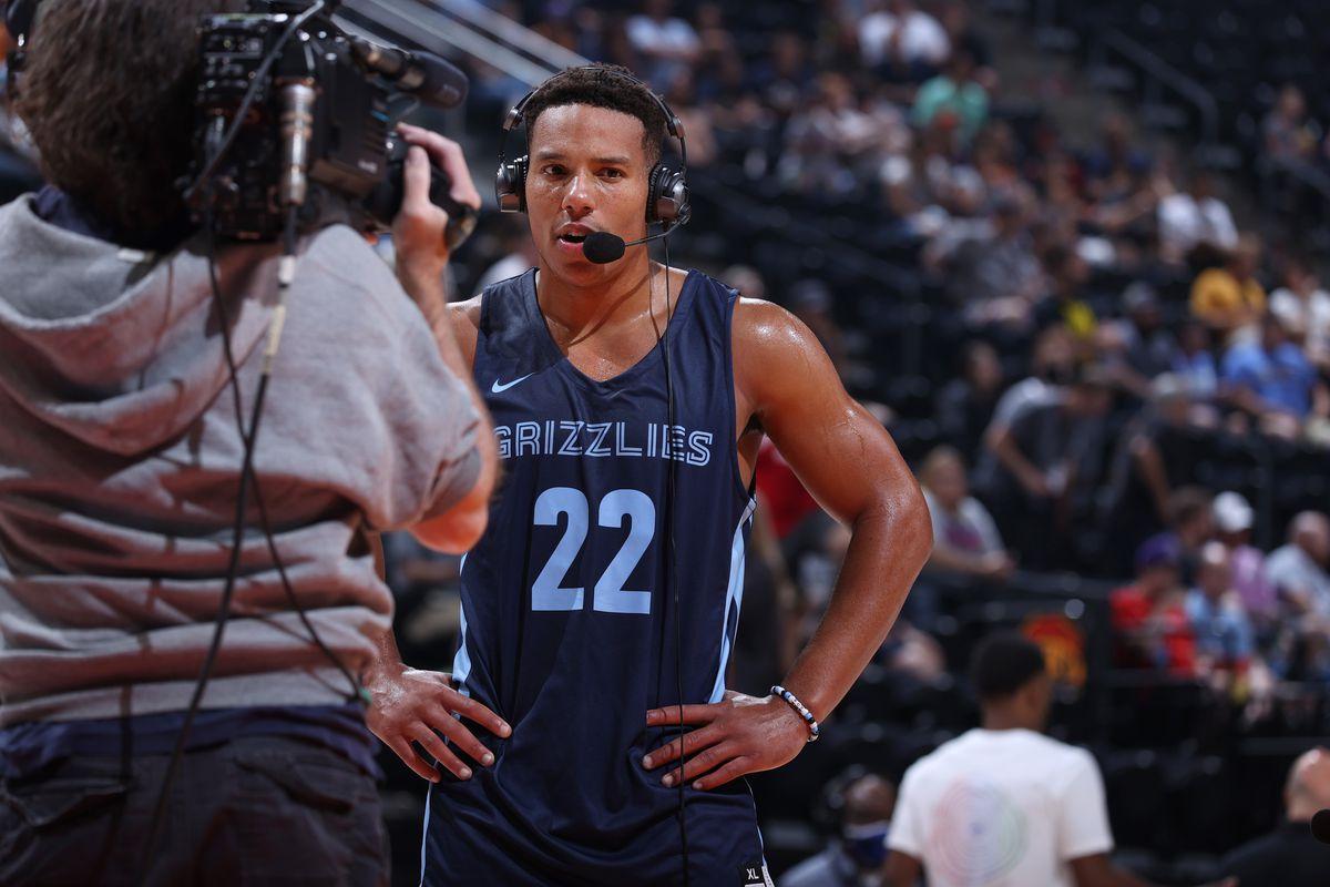 2021 Salt Lake City Summer League: San Antonio Spurs v Memphis Grizzlies
