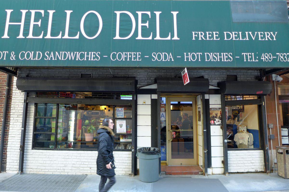"""The Hello Deli says """"Hello!"""""""