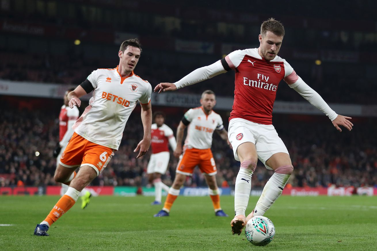 Yet another reports indicates that Arsenal midfielder Aaron Ramsey is headed to AC Milan
