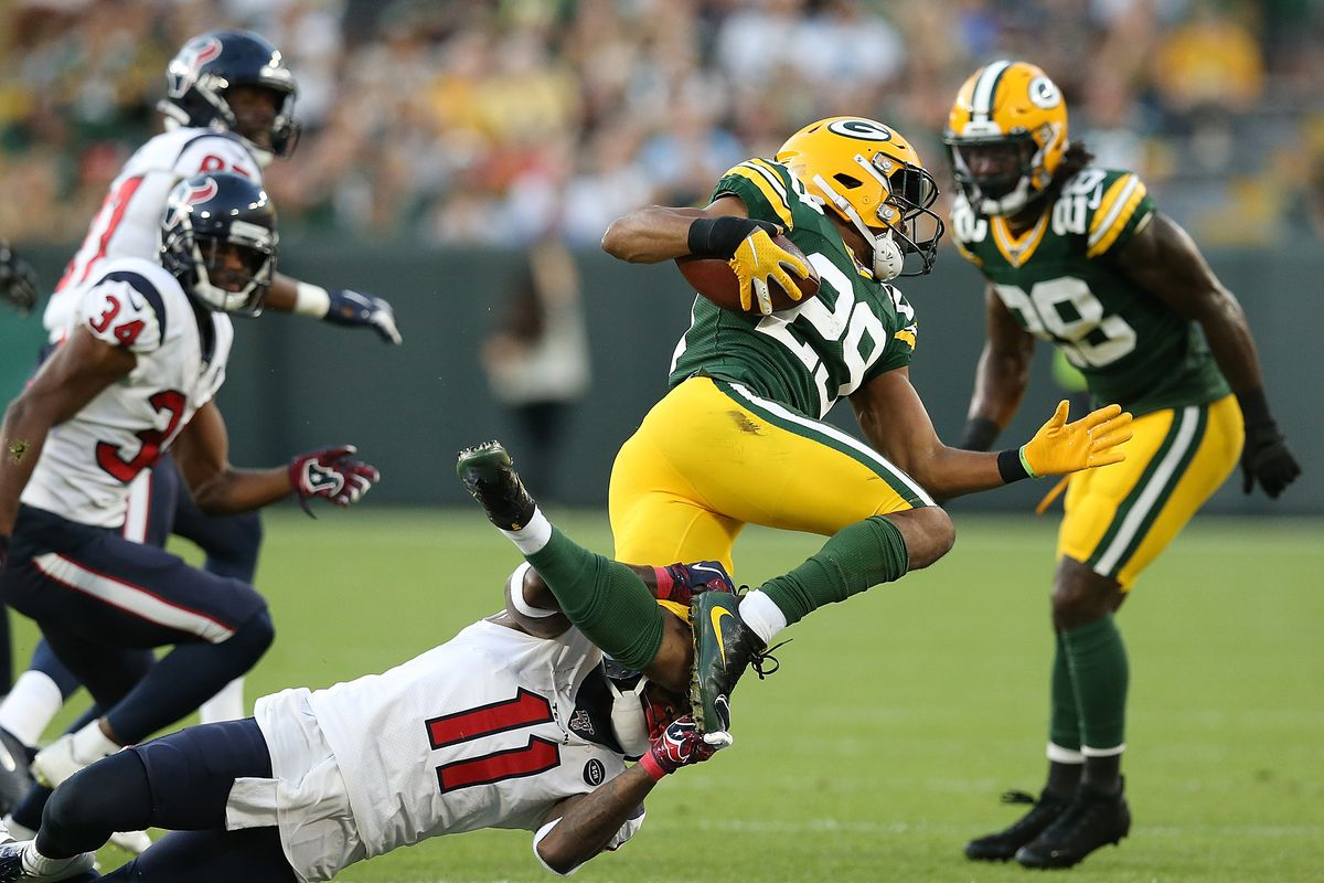 Packers Vs Texans Preseason Halftime Recap Second Half Game Updates Acme Packing Company