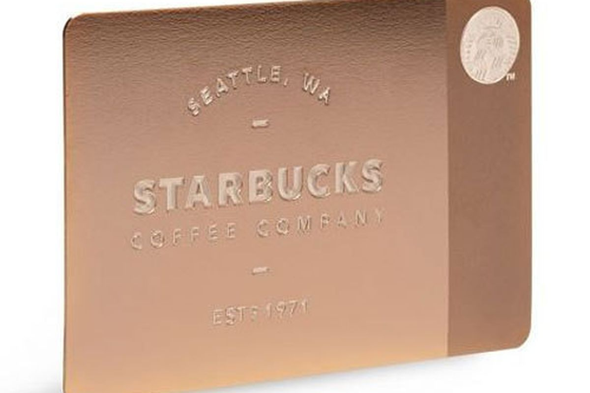 """Image via <a href=""""http://news.starbucks.com/news/starbucks-offers-new-limited-edition-metal-starbucks-card-in-time-of-the-ho"""">Starbucks</a>"""