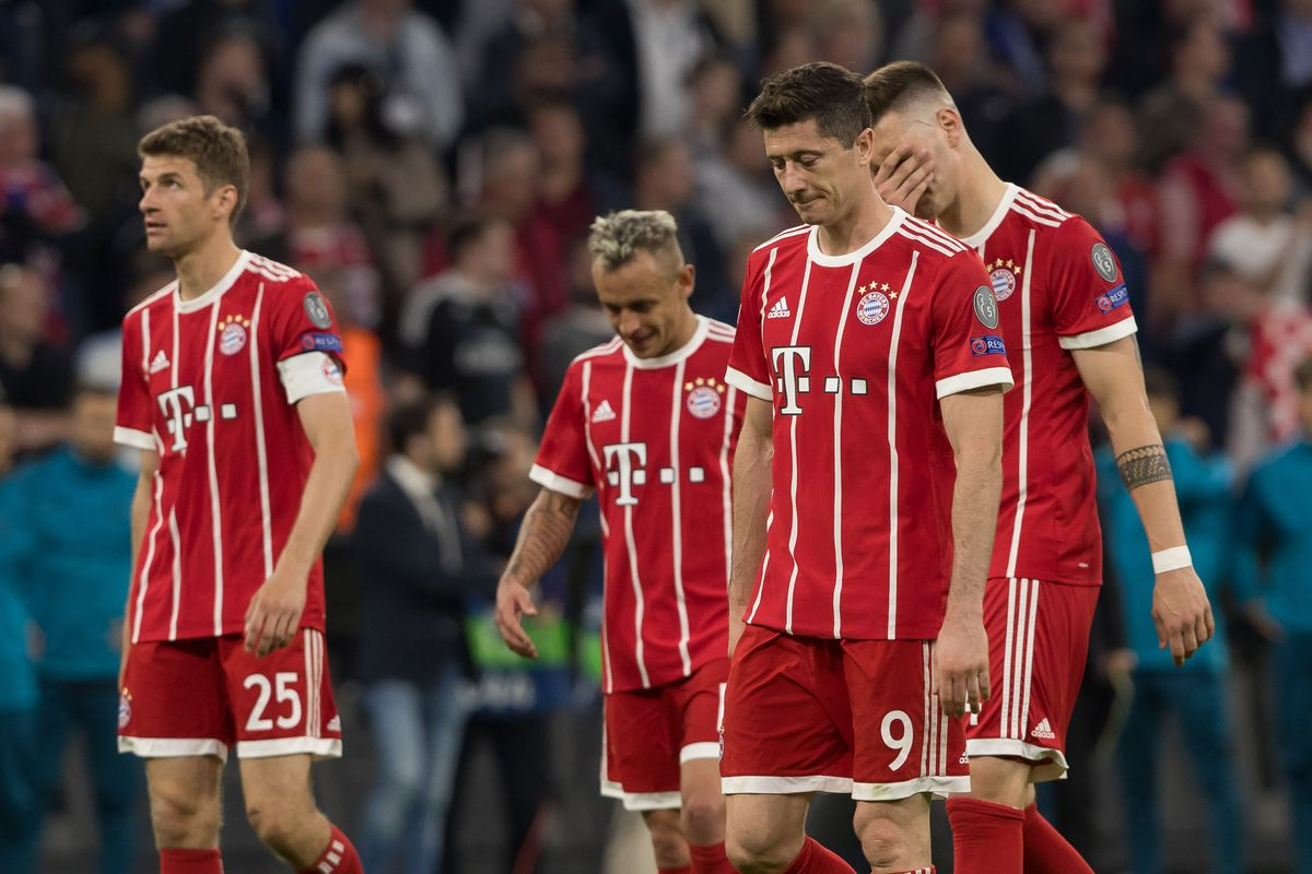 Match Observations Bayern Munich S 2 1 Loss To Real Madrid In The Champions League Bavarian Football Works