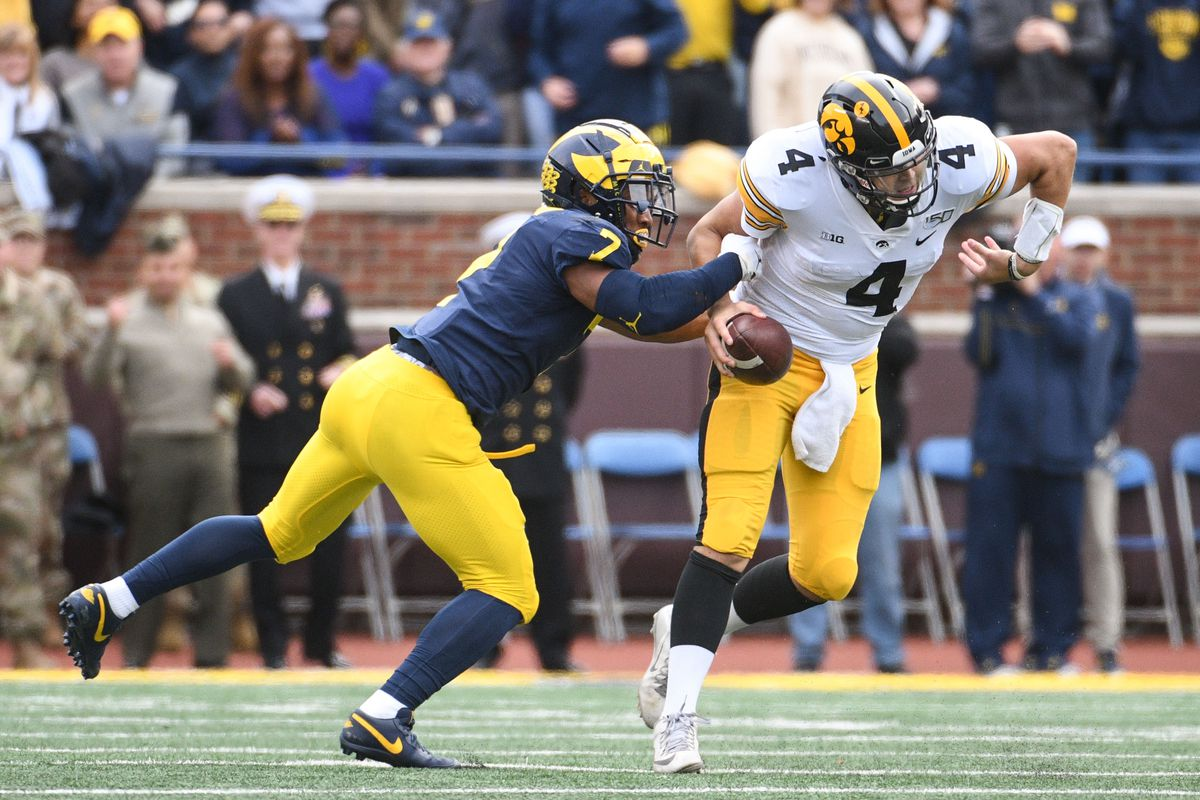 NCAA Football: Iowa at Michigan
