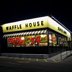 You actually can find a Waffle House in the farther-flung suburbs of Washington if you need greasy breakfast fare.