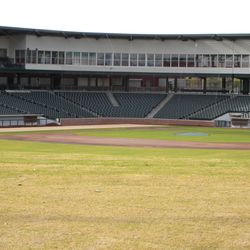 View toward home plate from right-center field