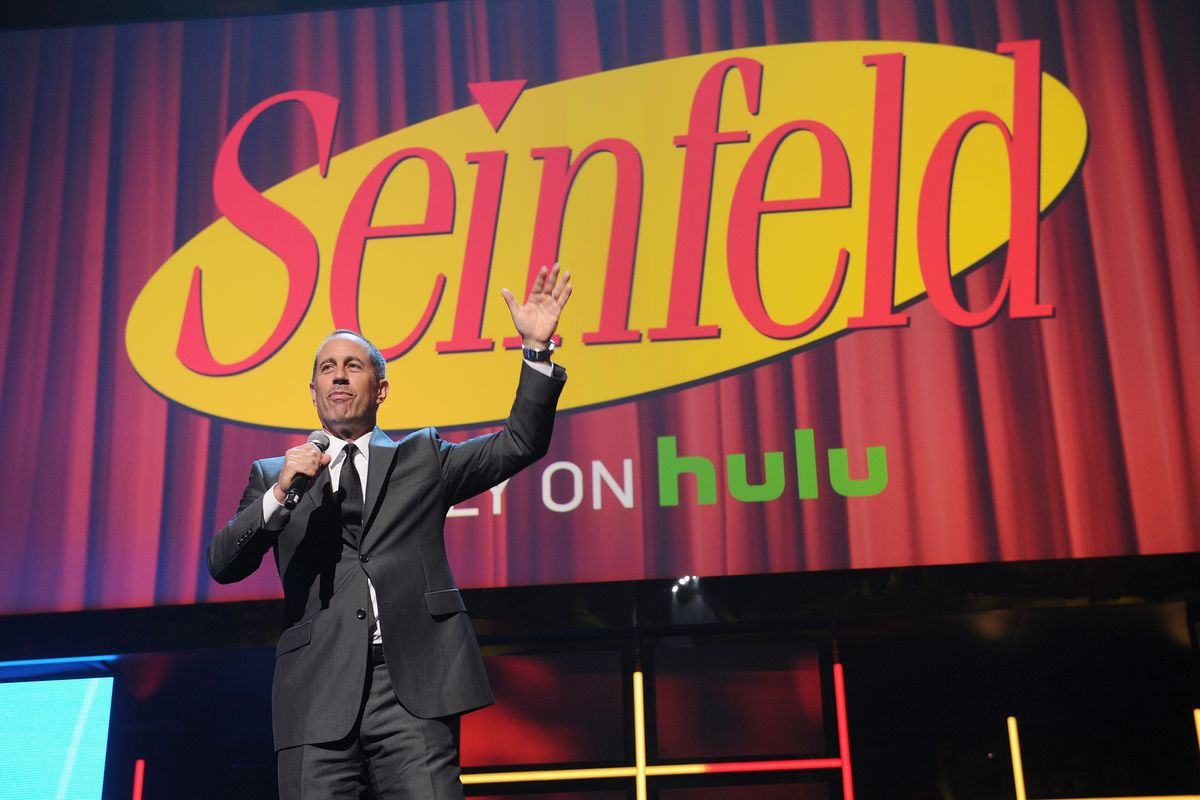 """Seinfeld and Hulu, now available in """"commercial-free."""""""