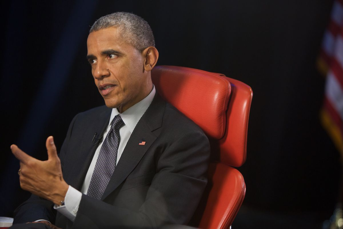 White House. Red Chair. Obama Meets Swisher.