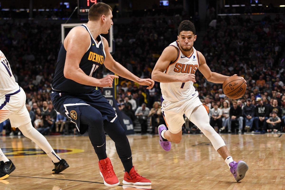 DENVER NUGGETS VS PHOENIX SUNS, NBA REGULAR SEASON