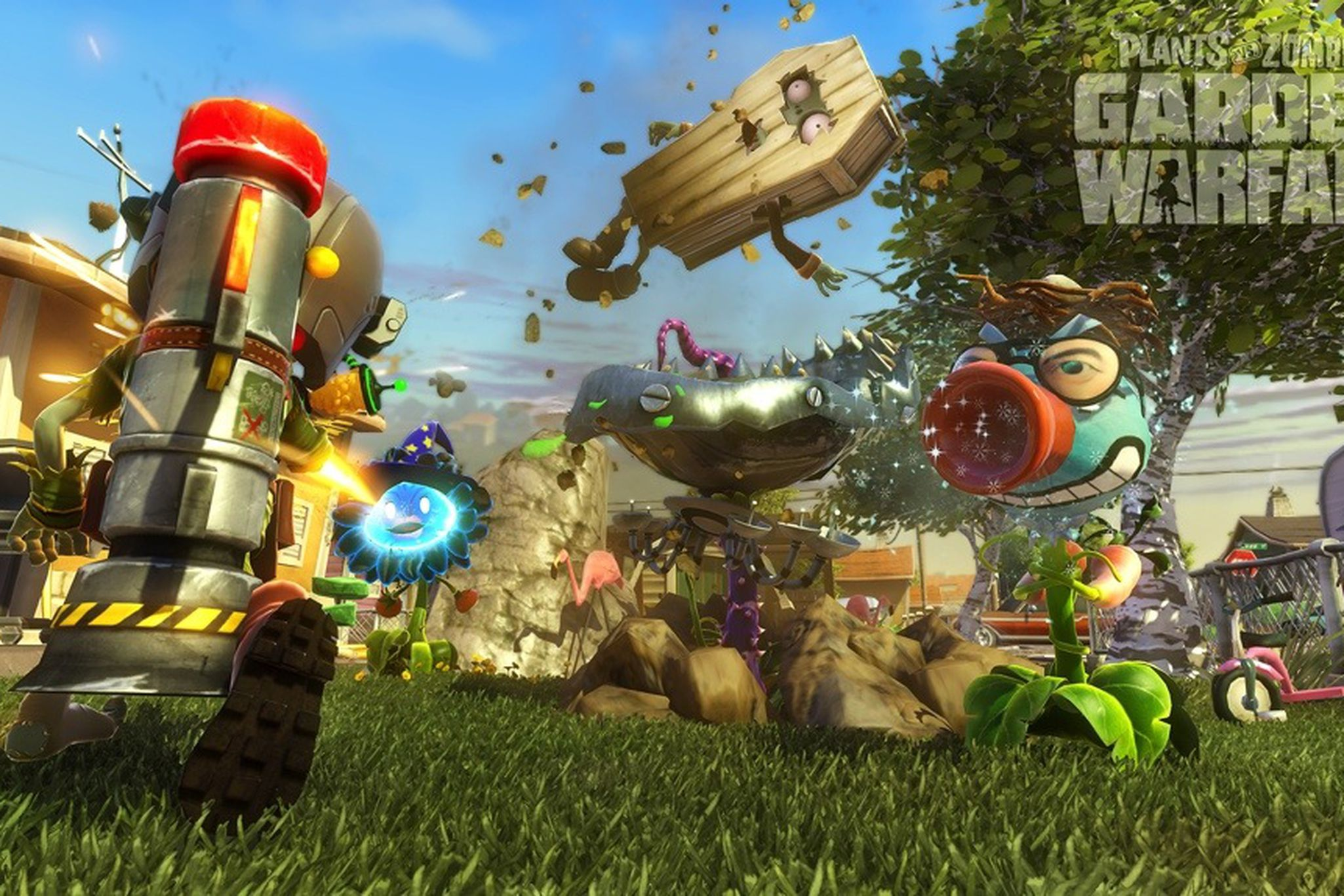 Plants Vs Zombies Garden Warfare Review Perfectly Prunable The