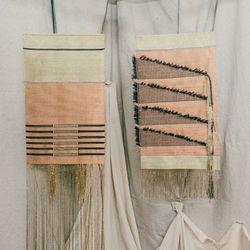 Native Line wall hangings, $790