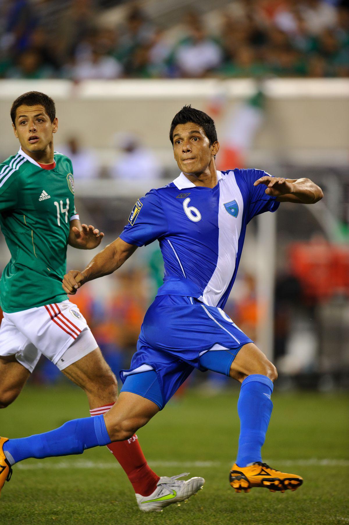 SOCCER - CONCACAF Gold Cup 2011 - Quarter Final - Mexico v Guatemala