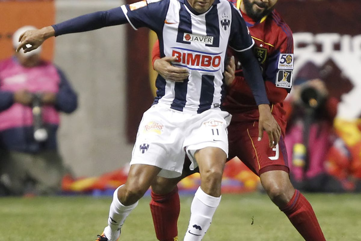 Sergio Santana could step in up front alongside Abraham Carreño with both Humberto Suazo and Aldo De Nigris possibly missing out.
