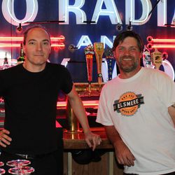 Owners Adam Powers (L) and Jeremy Rush