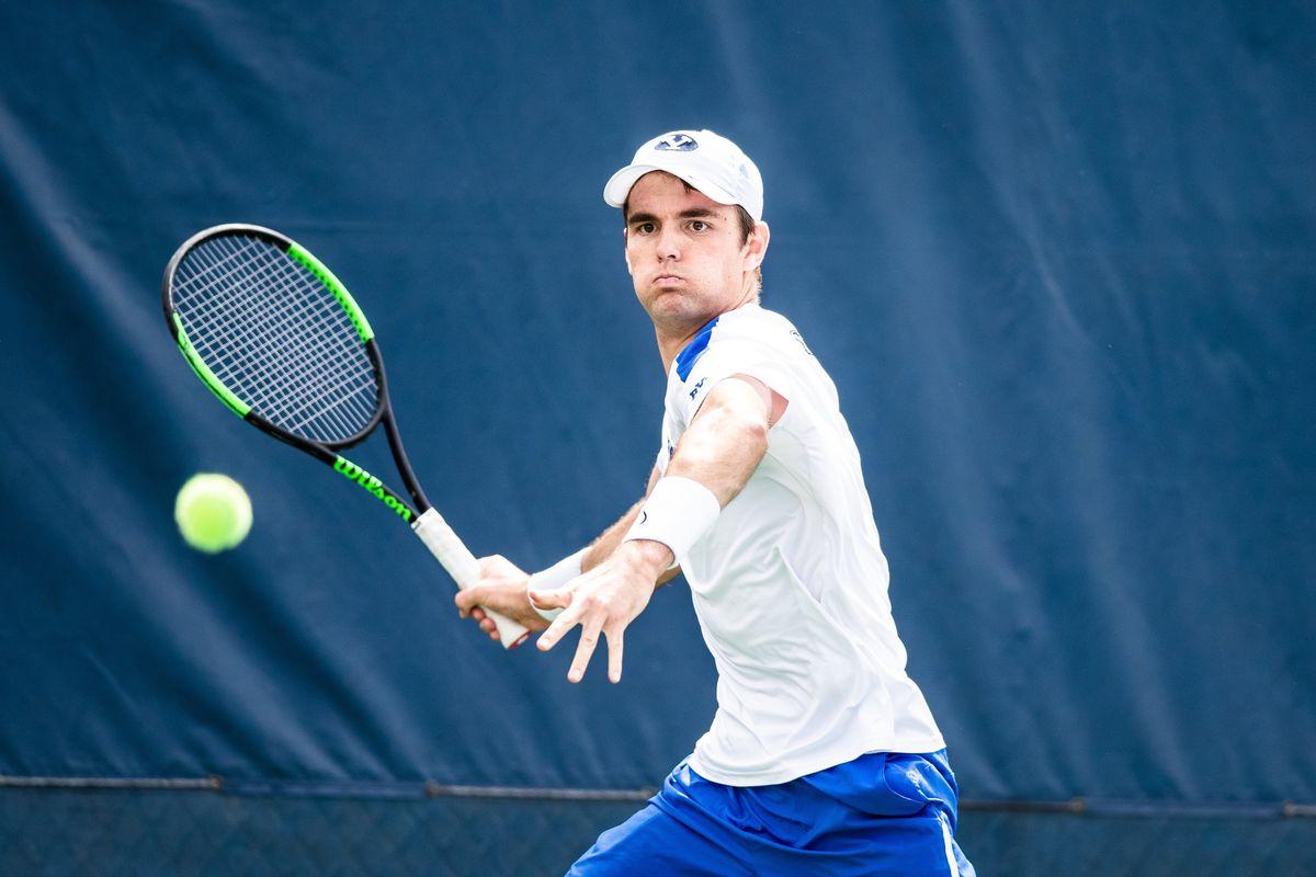 Sam Tullis represented the Cougars at No. 4 singles and grabbed a win at No. 2 doubles with his partner Ben Gajardo.