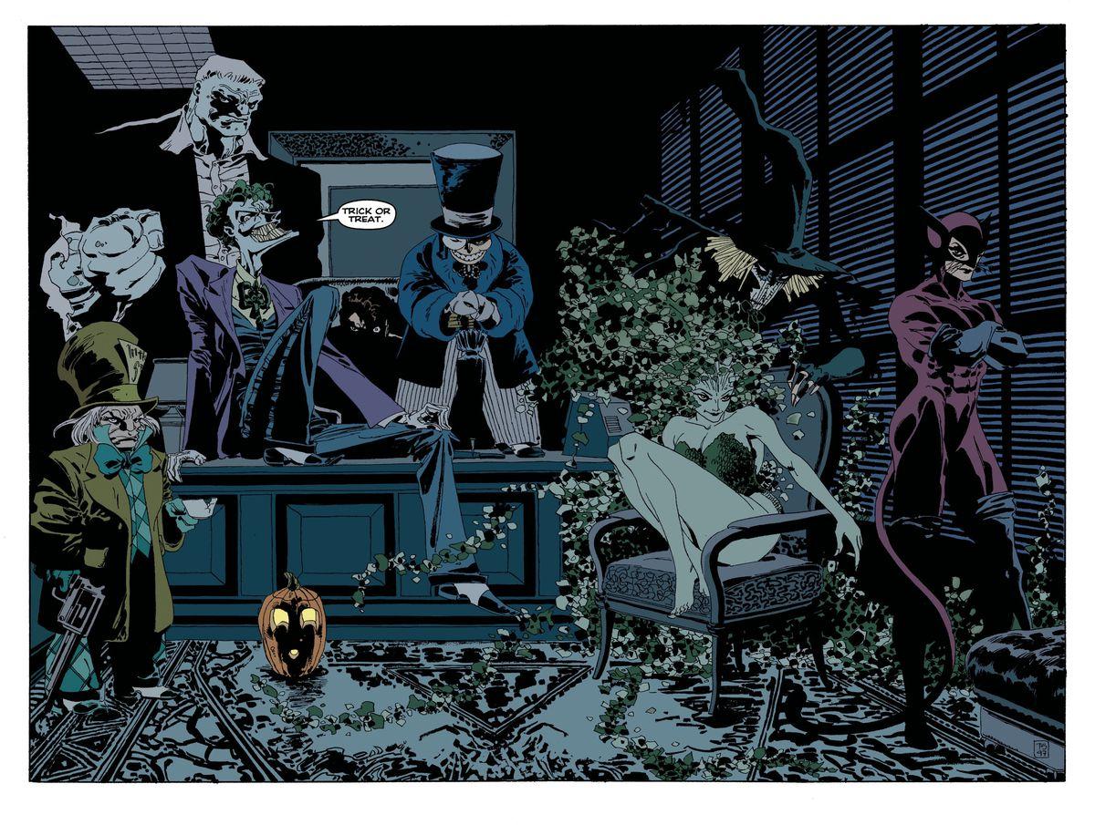 Batman: The Long Halloween, DC Comics (1996).