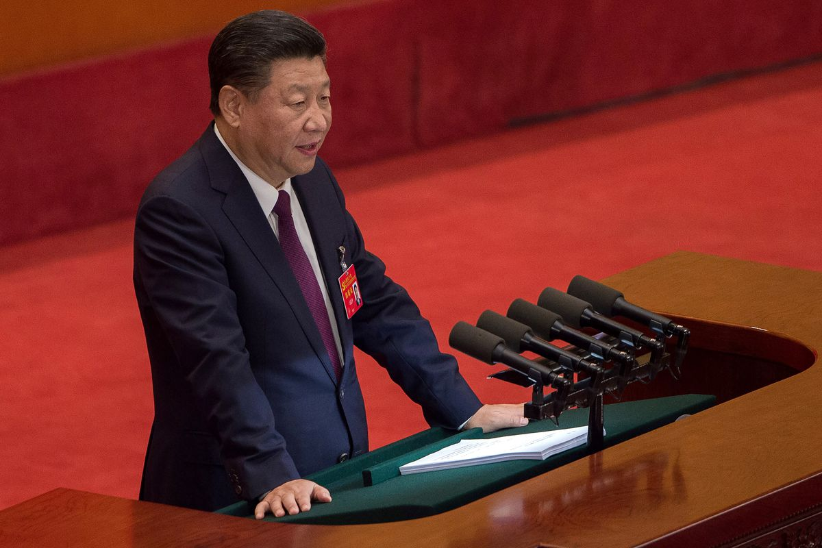 Communist Party names Xi in constitution, elevates status