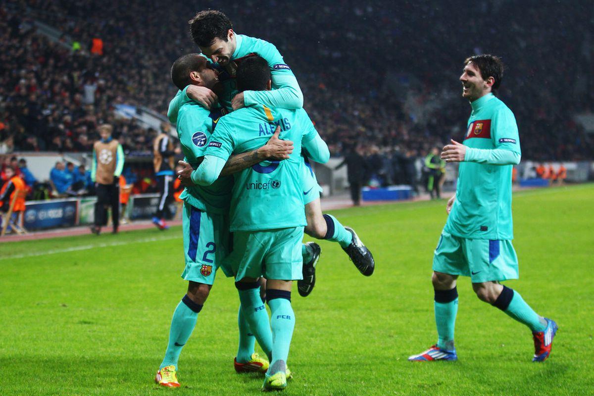 Barcelona Lyon Update: UEFA Champions League, Round Of 16: Barcelona, Lyon Win
