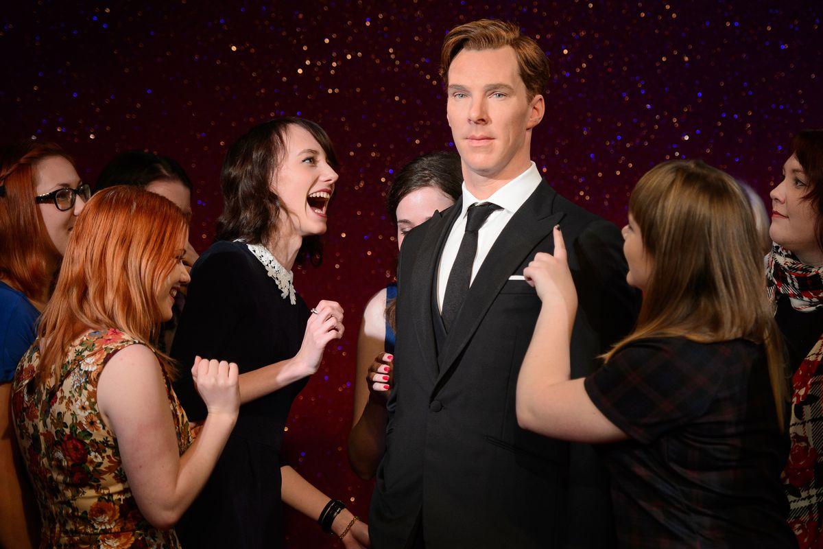 Benedict Cumberbatch and some Cumberbabes