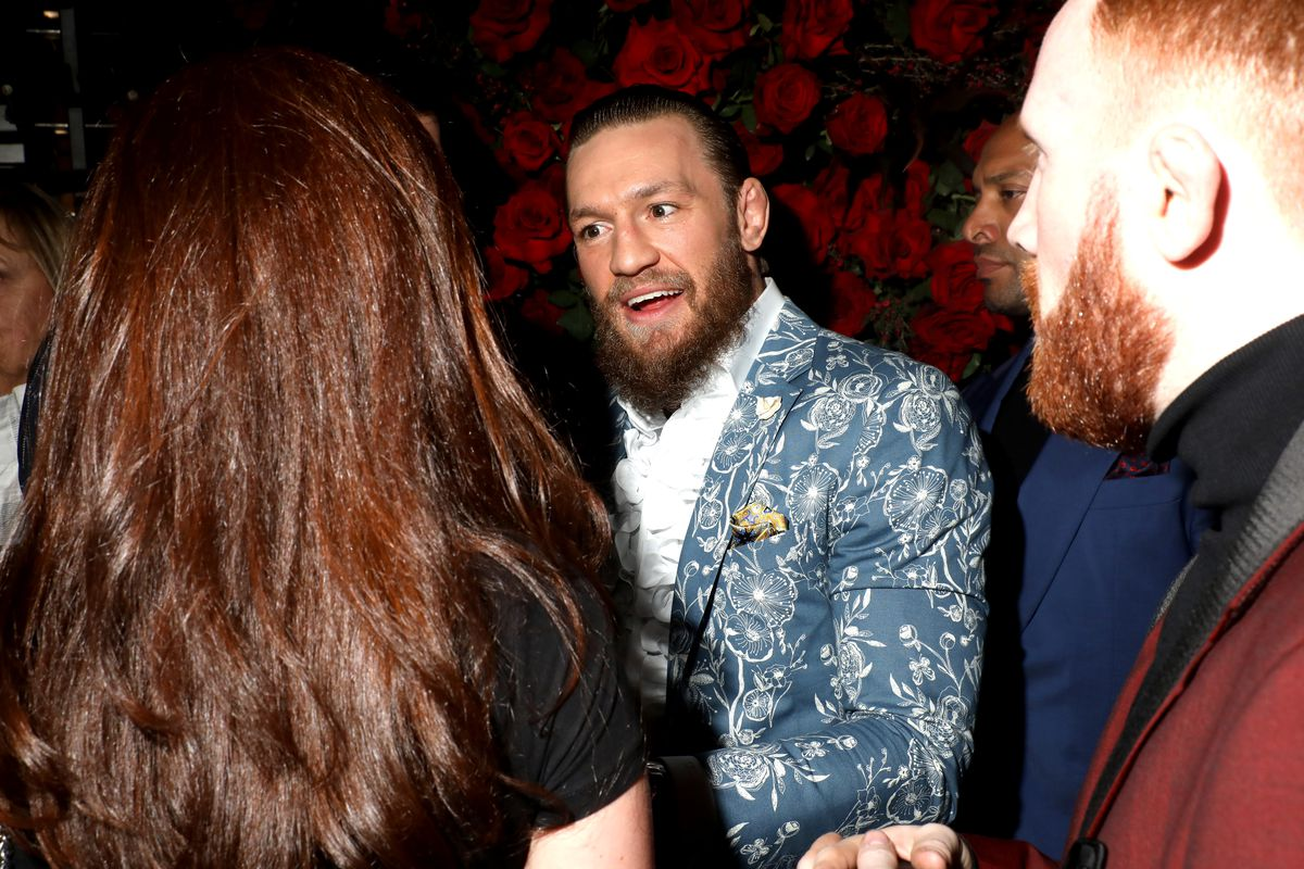 Conor McGregor - Red Light Grammy Party 2020