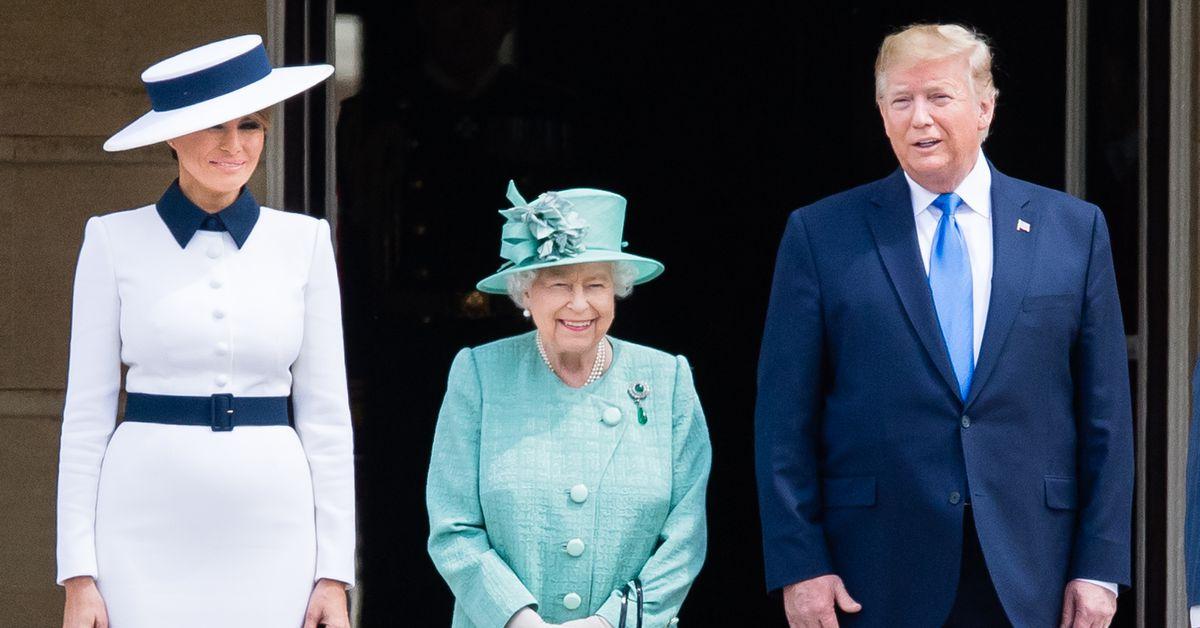 Trump UK state visit Melania and Ivanka Trumps looks