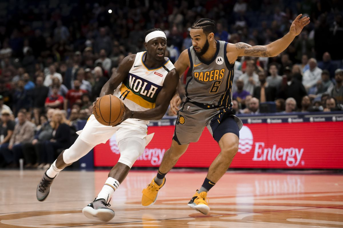 NBA: Indiana Pacers at New Orleans Pelicans