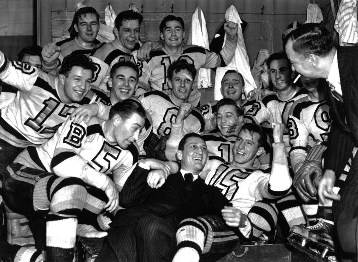 1941 Stanley Cup Finals - Game 4: Boston Bruins v Detroit Red Wings