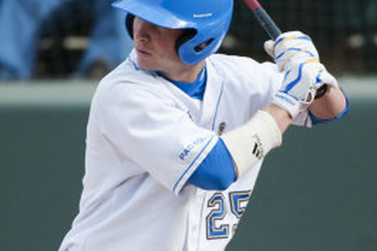 Beau Amaral led the UCLA attack by reaching base in all five at-bats (Photo Credit: Official Site)