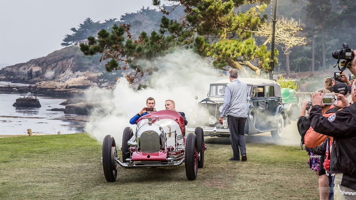 Concours D Elegance >> The Beautiful Cars Of Pebble Beach Concours D Elegance Could