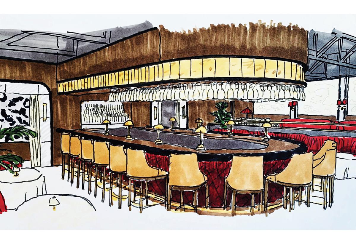 A sketch of drake's bar