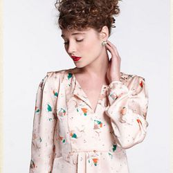 """<a href=""""http://us.anthropologie.com/anthro/catalog/productdetail.jsp?id=24992406&parentid=CLOTHES-MIK-4&navCount=72&navAction=jump""""><b>Hi There from Karen Walker</b> Scattered Buttercups Blouse</a>, $98</a>"""