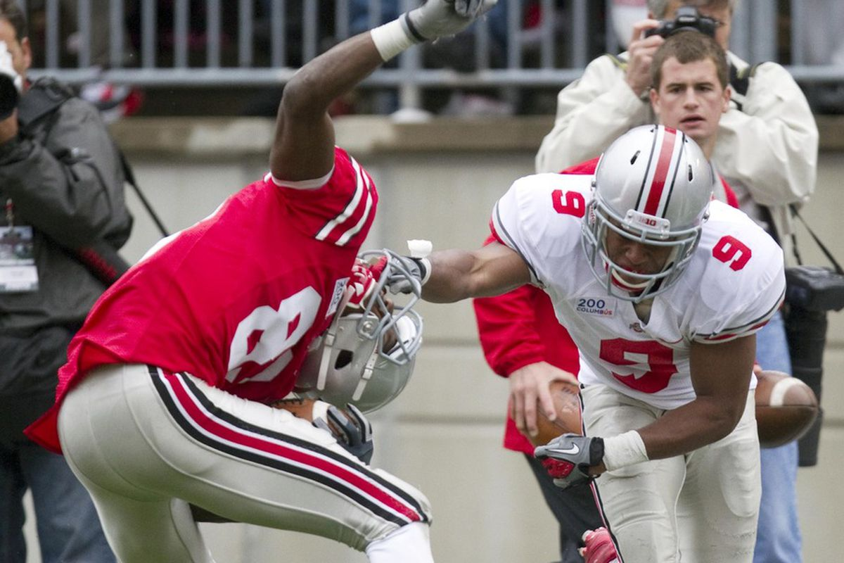 Ohio State freshman Michael Thomas looks to help change the world view of the OSU receiving corp.